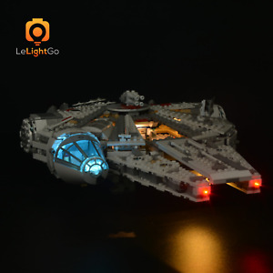USB LED Light Kit ONLY For Star Wars 75105 Millennium Falcon Lighting Kit 75105
