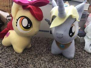 Unique My Little Pony Derpy Hooves Lot Apple bloom Plush Pony! NICE!