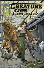 Creature Cops Special Varmint Unit #1 (of 3) Comic Book 2015 - IDW