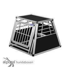 N25 Hundetransportbox Gitterbox Aluminium Transportbox Hundebox Alubox Autobox