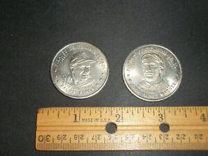 Vintage 1987 Pittsburgh Pirates Centennial Season coins. Honus & Kiner!