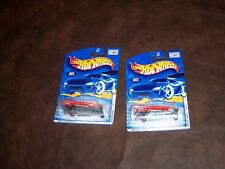 HOT WHEELS - '57 ROADSTER -2001  FIRST EDITIONS - CARD NO.052 - NEW - L@@K