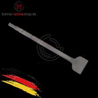 Spatmeißel breiter Meissel 75x400mm für Bosch 19mm Sechskantschaft mit Bund