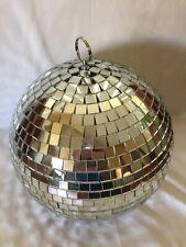 spiegel mirror 8in.hanging silver disco ball