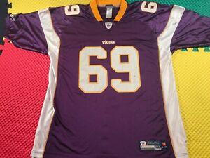 Jared Allen Minnesota Vikings #69 Reebok On Field Purple Jersey Men's Size 2XL