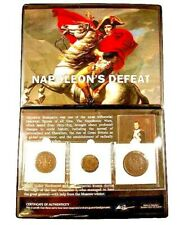 Napoleon's Defeat, A Three Coin Album,Story And Certificate