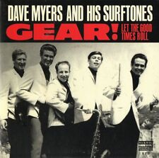 Dave Myers And His Surftones ‎– Gear! 7'' RSD 2016 Red vinyl ventures surfaris