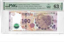 "Aegentina,Banco Central ""Commemorative""Pick#358c 2016 100 Pesos PMG 63 EPQ"