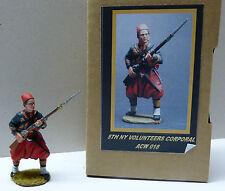 Principe ereditario toy soldiers, Unione 5th New York Caporale, acw018, personaggio Scala 1/30