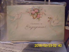 VINTAGE GIBSON Engagement party invitations  PKG OF 10