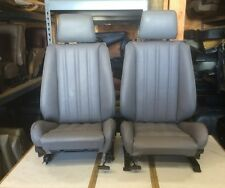 BMW e30 325i 318i 325 New Grey Front Sport Seats For IS & I 1982-92  $1500