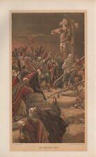 """Tissot Jesus CHROMO-LITHO PRINT - """"Les Pénitents voleur"""" (1897)"""