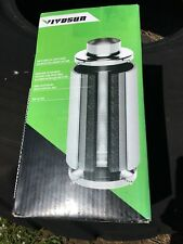 "VIVOSUN 6"" Air Carbon Filter Odor Control w/Virgin Charcoal for Inline Fan.NEW"