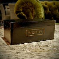 Bluntly Stealth Mini Discreet Stash Handmade Wooden Box Tobacco Herbal Storage