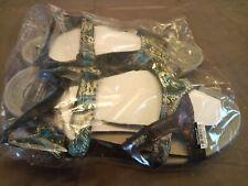 Muk Luks Women's Ophelia Sandals Turquoise Size 8 - GallyHo