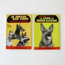 Le chien de Berger Allemand - Je dresse mon chien - Lots de 2 livres