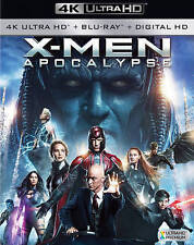 X-Men: Apocalypse (DVD, 4K Ultra HD Blu-ray) NEW
