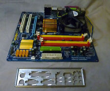 Gigabyte GA-EG31MF-S2 Socket775 Motherboard Complete With I/O Plate &CPU 2GB RAM