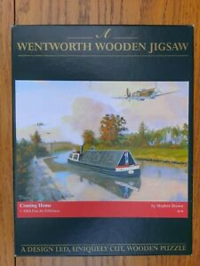 RARE Wentworth 250 piece Jigsaw Puzzle 'Coming Home' Stephen Brown Spitfire RAF