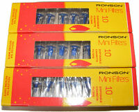 3 PACK OF 10 RONSON MINI TAR FILTERS FOR CIGARETTE - FIT 8MM DIAMETER CIGARETTES