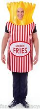 Mens Ladies French Fries Food Stag Hen Do Festival Fancy Dress Costume Outfit