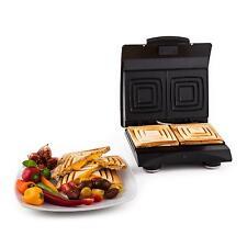 Klarstein Sandwich Maker Buddy Kontaktgrill Edelstahl Antihaft Heizflächen 700W