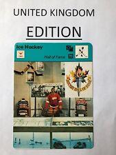 HOCKEY HALL OF FAME 1979 Sportscaster #13 064 88-15 (U.K. Version) TERRY SAWCHUK