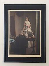 Prima DELLO SPECCHIO-L CAMPBELL Taylor - 50x70cm telaio, RA STAMPE. GIRL IN MIRROR