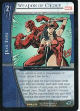 Marvel VS CCG - Marvel Knights - Weapon of Choice #220