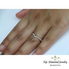 Diamond Wedding Ring Band Classic 14k White Gold Engagement Anniversary Ring