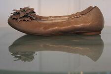 PAUL GREEN Traumhaft Braun Grau Echtleder Ballerinas, Gr. 37/UK4, Top Zustand!