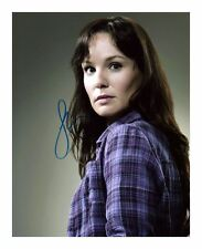 SARAH WAYNE CALLIES - THE WALKING DEAD AUTOGRAPHED SIGNED A4 PP POSTER PHOTO