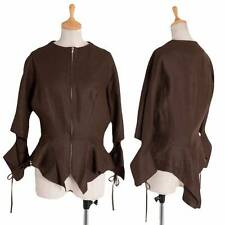 Yohji Yamamoto FEMME Linen zip jacket Size 3(K-30154)