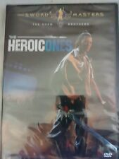 HEROIC ONES  DVD  CHANG CHEH  REGION FREE NEW & SEALED
