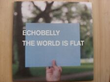 Echobelly:  The World is Flat    Near mint  CD single (blue square on card slv)