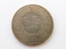 H253     SCHWEIZ 1/2,- Franken 1878