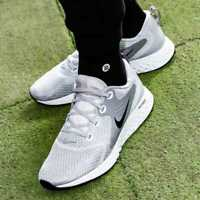 NIKE LEGEND REACT Running Trainers Gym Casual - Wolf Grey - UK Size 7.5 (EUR 42)
