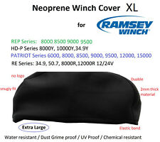 Ramsey WINCH in Neoprene Cover per Patriot REP 6000 8000 9000 15000 Libbre snuglyfit XL