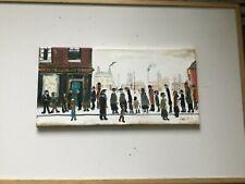Waiting    , 50 cm x 25. Original  Oil Painting direct from artist john Goodlad