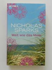 Nicholas Sparks Weit wie das Meer Liebesroman Heyne Taschenbuch