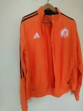 Vintage Adidas Boston Marathon 2007 Climaproof Running Jacket Bright Orange Sz L