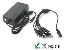 Alimentatore 12 volt DC multiuscita x 8 telecamere 5A stabilizzato CCTV DVR LED