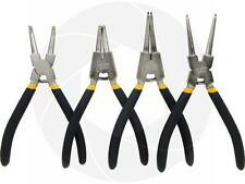 "4pcs Portable 7"" Internal External Retaining Clips Snap Ring Circlip Pliers Set"