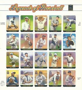 3408 LEGENDS OF BASEBALL NH XF @ FACE