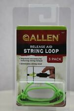 Allen Release Aid String Loops Green 3 Pack - 547
