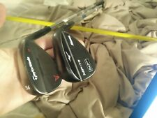 Right Mizuno mp-t5 black, Taylormade milled grind bronze wedge set. 50,56.wedge