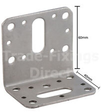 HEAVY DUTY STAINLESS STEEL ANGLE CONNECTOR BRACKETS DECKING TIMBER JOIST BRACKET