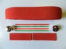 Italian Cork Handlebar Tape, Handlebar Wrap, Colnago, Red - NIP