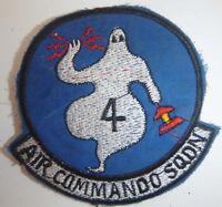 SPOOKY GUNSHIP - Patch - 4th AIR COMMANDO SQN - USAF SPECIAL OPS, Vietnam War, B