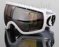 NEW ELECTRIC EG2.5 GOGGLES Gloss White/Bronze-Silver Chrome Mirror Lens Ski Snow